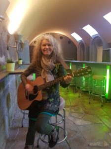 Foto mit Gitarre Matilde